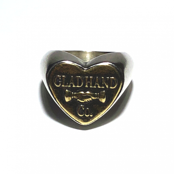 """BUTTON RING """"HEART"""" / SMALLの商品画像1"""