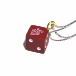 TUMBLING DICE – PENDANT / REDの商品画像