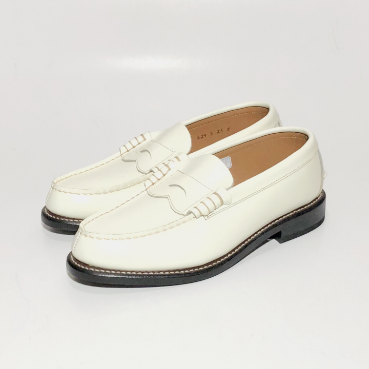 COIN LOAFERS SHOES / WHTの商品画像3
