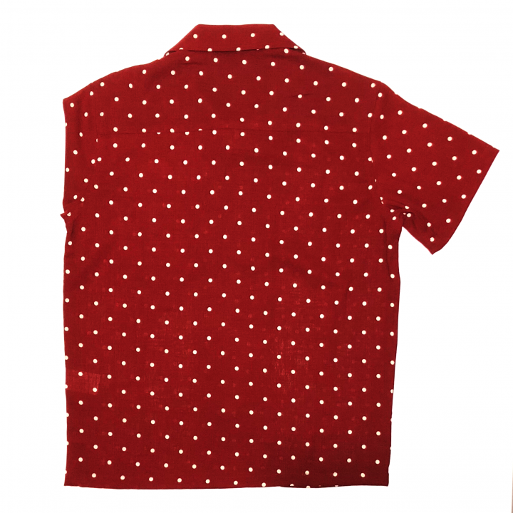 DIAMONDS – S/S SHIRTS / REDの商品画像2