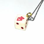 TUMBLING DICE – PENDANT / IVORYの商品画像