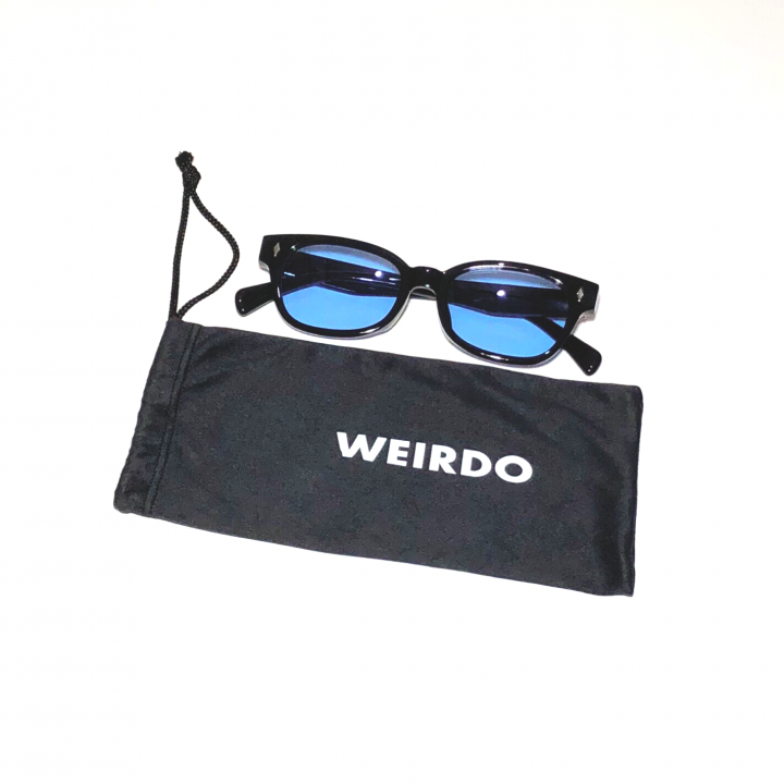 WEIRDO / FREAKY RIDERS – GLASSES / BLACK × BLUEの商品画像1