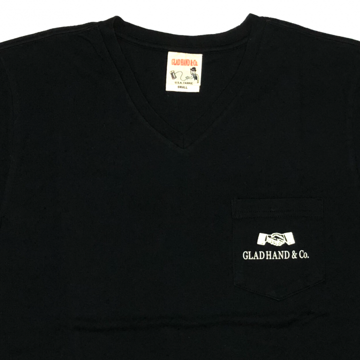GH DAILY – V-NECK T – SHIRTS / BLACKの商品画像2