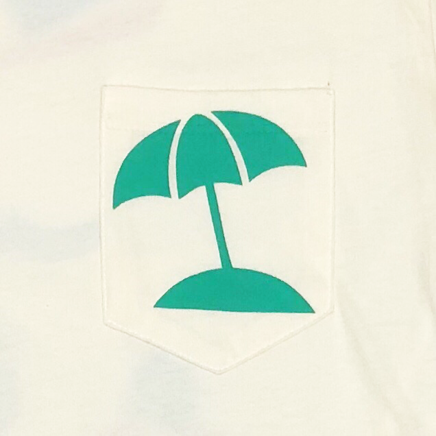 Swimmer Back print Front Pocket Teeの商品画像5
