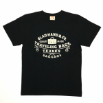 GLAD HAND / ADVERTISING BAGGAGE – T-SHIRTS / BLACKの商品画像