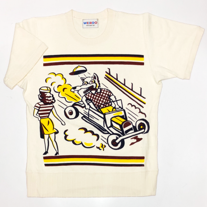 WOLF BAIT – S/S PILE T- SHIRTSの商品画像1
