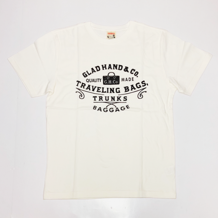 ADVERTISING BAGGAGE – T-SHIRTS / WHITEの商品画像1