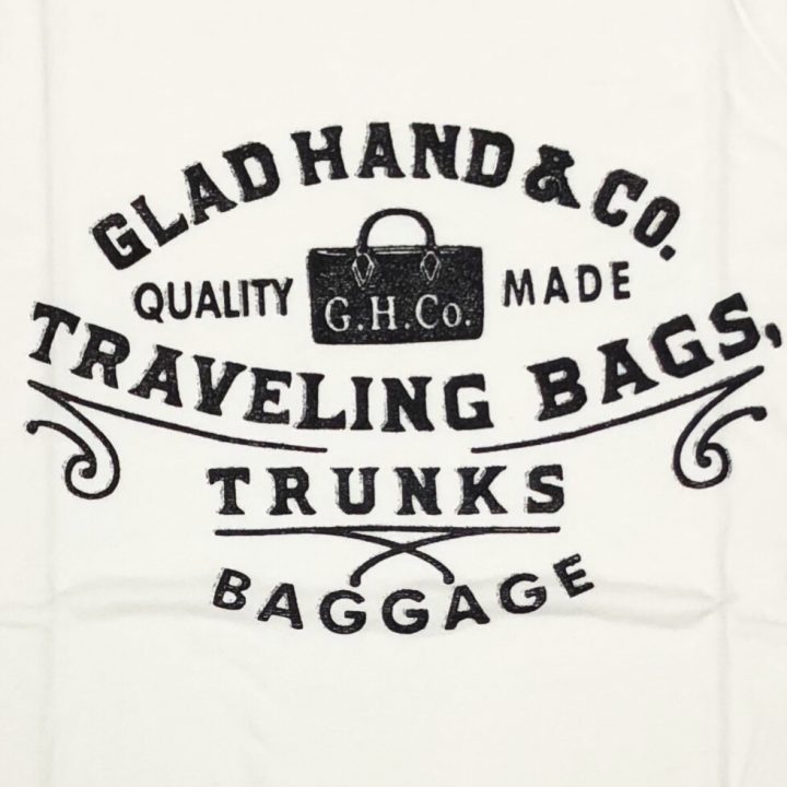 ADVERTISING BAGGAGE – T-SHIRTS / WHITEの商品画像2