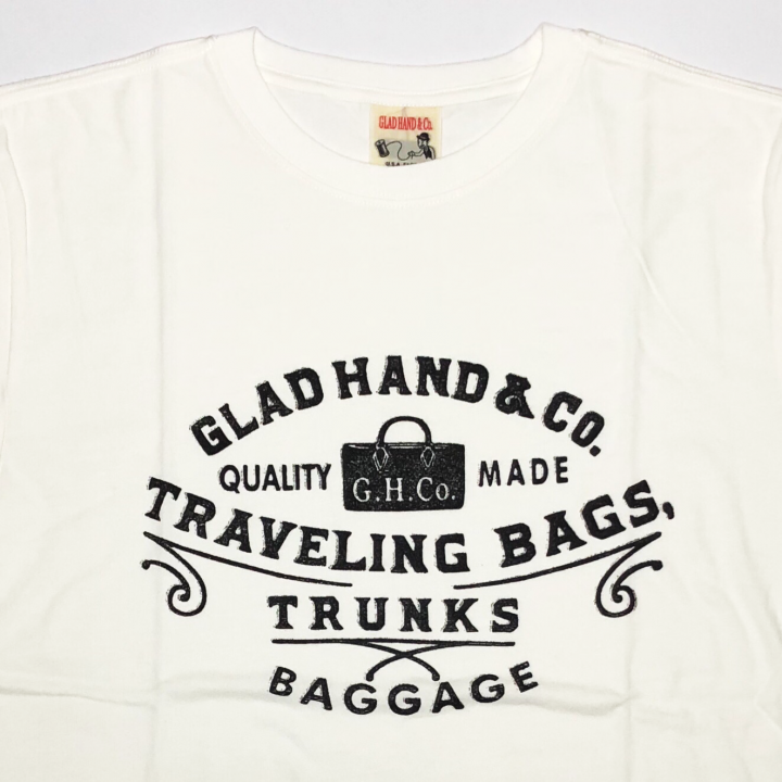 ADVERTISING BAGGAGE – T-SHIRTS / WHITEの商品画像3