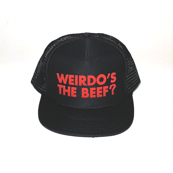 Weirdo's the Beef ? – MESH CAPの商品画像1
