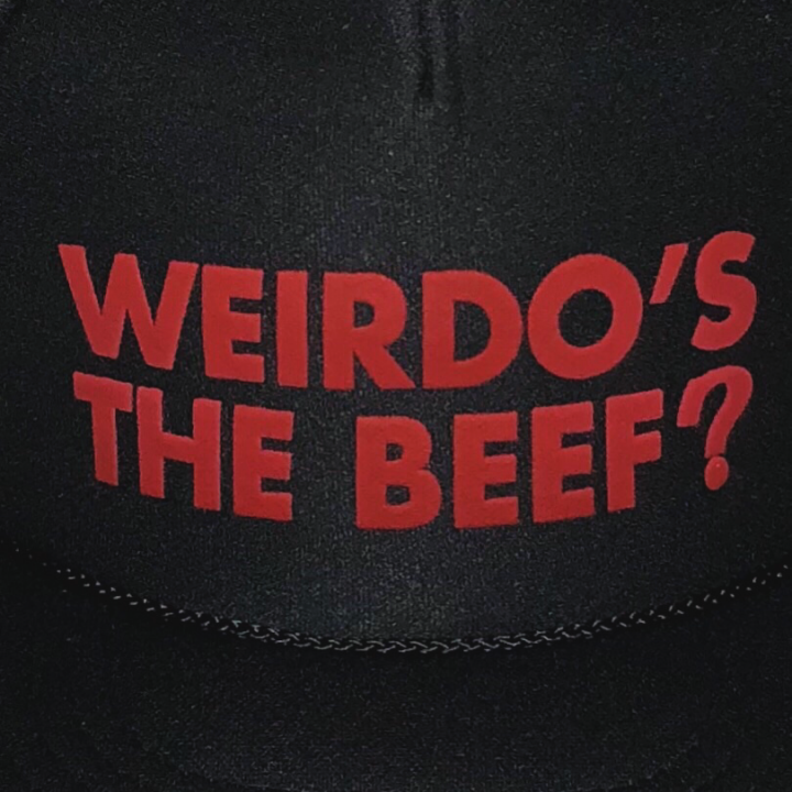 Weirdo's the Beef ? – MESH CAPの商品画像2