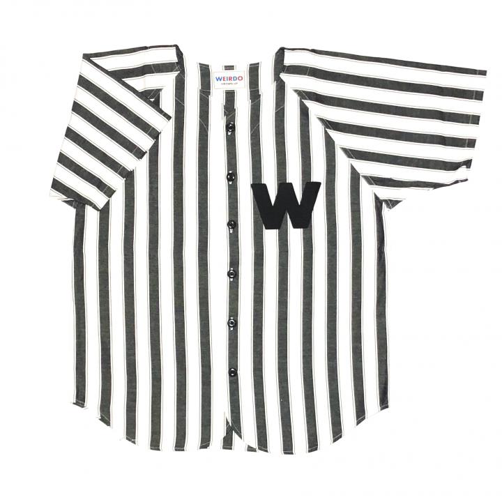 WINDY'S -S/S BASEBALL SHIRTS / BLACKの商品画像1