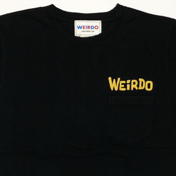 WEIRDO DAILY – S/S T-SHIRTS / BLACK × YELLOWの商品画像2