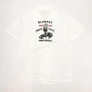 BLONDES – S/S SHIRTS / WHITEの商品画像