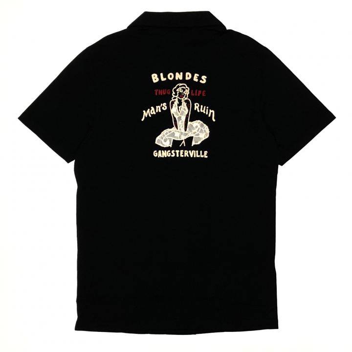 BLONDES – S/S SHIRTS / BLACKの商品画像1