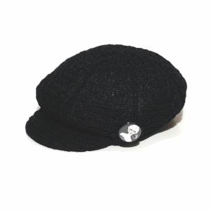VIRGINIA – CASQUETTE / BLACKの商品画像