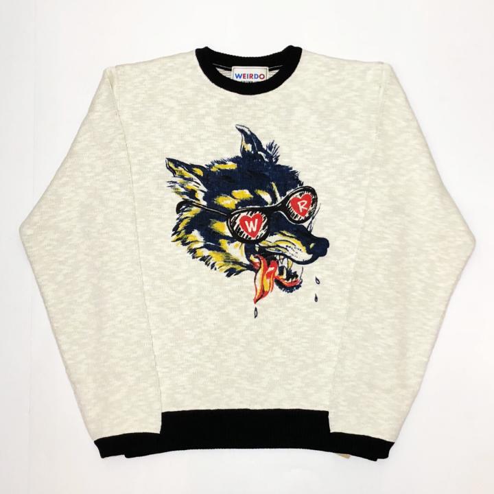 WOLF BAIT – KNIT L/S SHIRTSの商品画像1