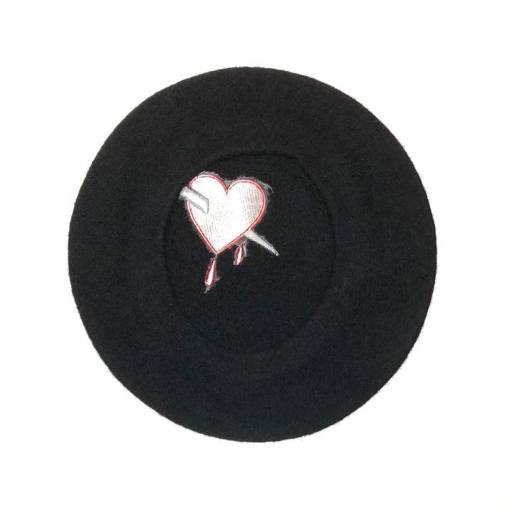 DAGGER – HEART – BERET HATの商品画像2