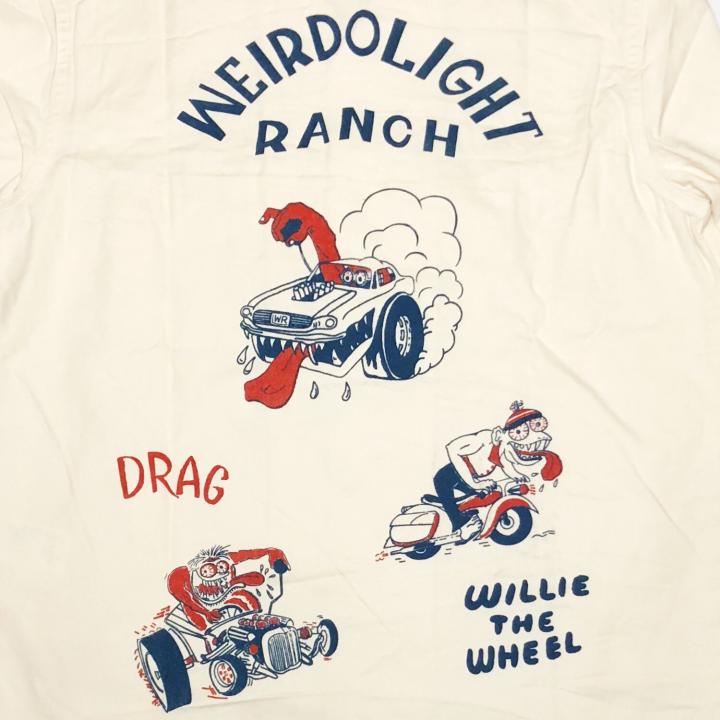 WEIRDOLIGHT RANCH – L/S SHIRTS / IVRの商品画像5