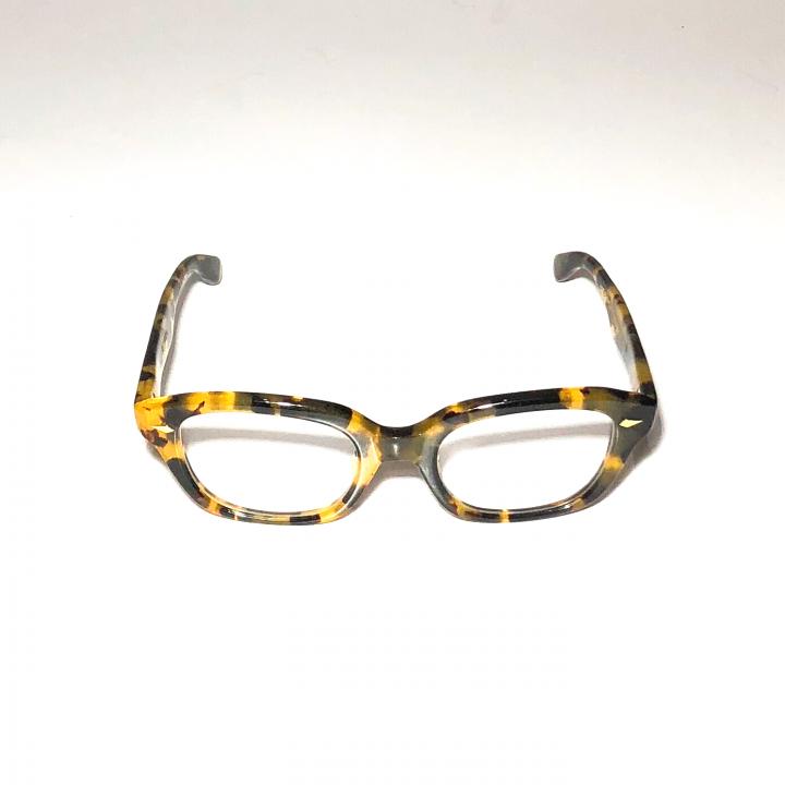 "J – IMMY – GLASSES ""ORNAMENT"" / GOLD YELLOW AMBERの商品画像2"