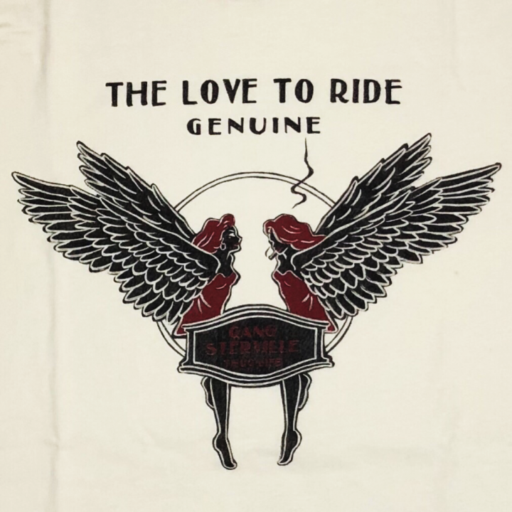 LOVE TO RIDE – L/S T-SHIRTS / WHITEの商品画像4