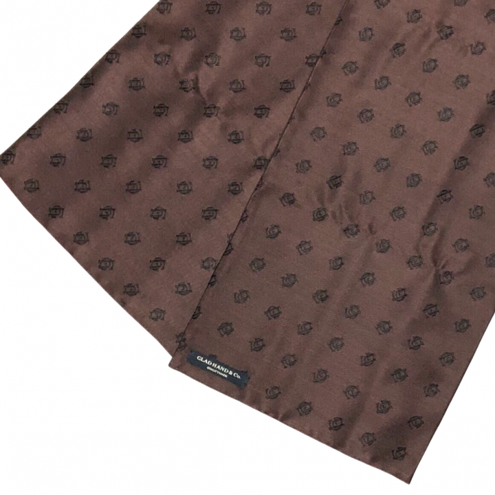 FAMILY CREST STOLE / LONG / BROWNの商品画像2