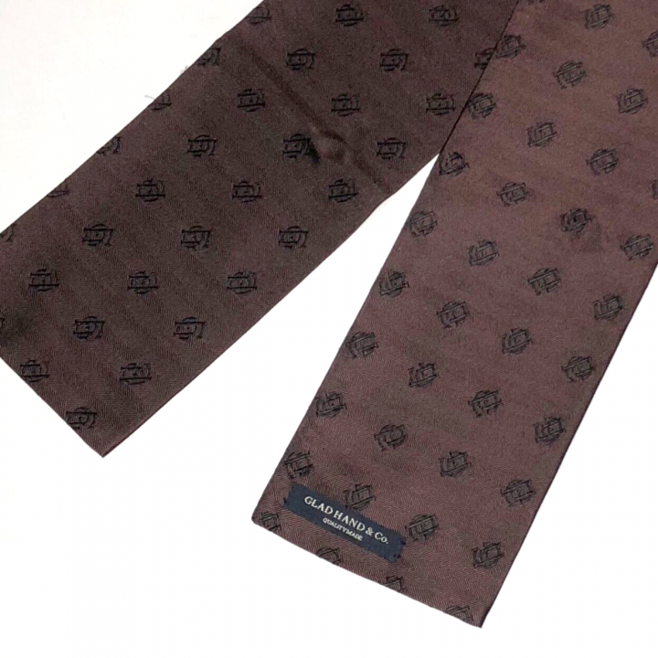 FAMILY CREST STOLE / SHORT / BROWNの商品画像2