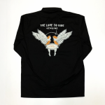 LOVE TO RIDE – L/S SHIRTS / BLACKの商品画像