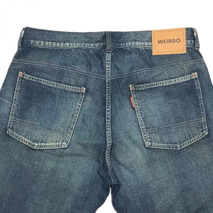 WEIRDOLIGHT RANCH DENIM PANTS / INDIGO VINTAGE FINISHの商品画像5