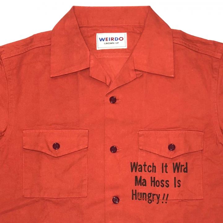 WEIRDOLIGHT RANCH – L/S SHIRTS / REDの商品画像3
