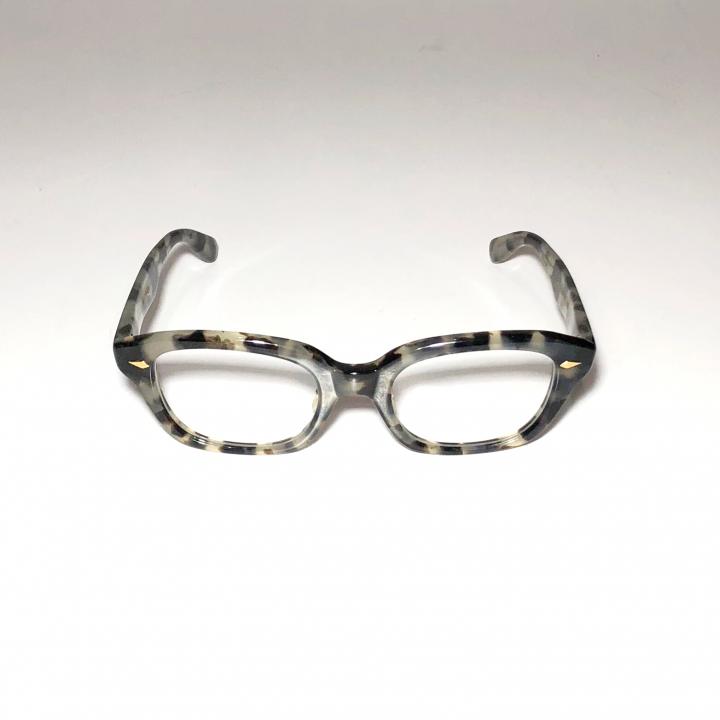 """J – IMMY – GLASSES """"ORNAMENT"""" / GOLD BLACK AMBERの商品画像2"""