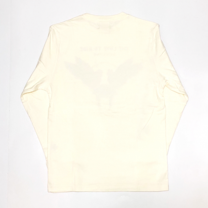LOVE TO RIDE – L/S T-SHIRTS / WHITEの商品画像2