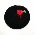 DAGGER – HEART – BERET HATの商品画像