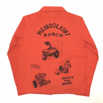 WEIRDOLIGHT RANCH – L/S SHIRTS / REDの商品画像