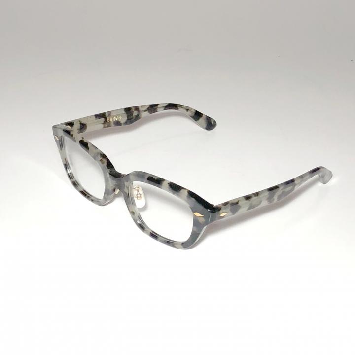 """J – IMMY – GLASSES """"ORNAMENT"""" / GOLD BLACK AMBERの商品画像1"""