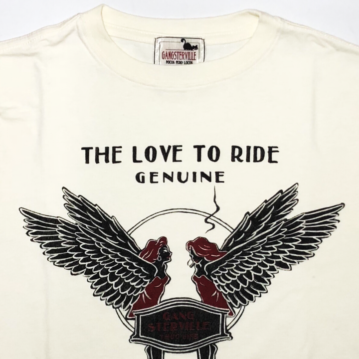 LOVE TO RIDE – L/S T-SHIRTS / WHITEの商品画像3