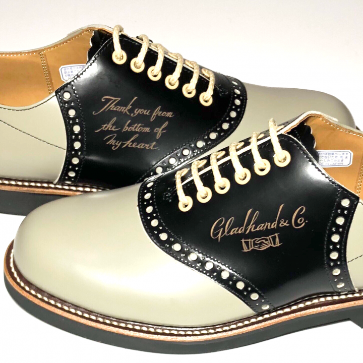 """SADDLE SHOES """"10th ANNIVERSARY"""" GRY × BLACKの商品画像4"""