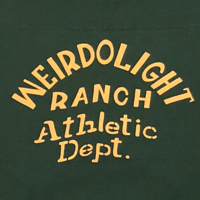 WEIRDOLIGHT RANCH – FOOTBALL SWEAT / GREENの商品画像5