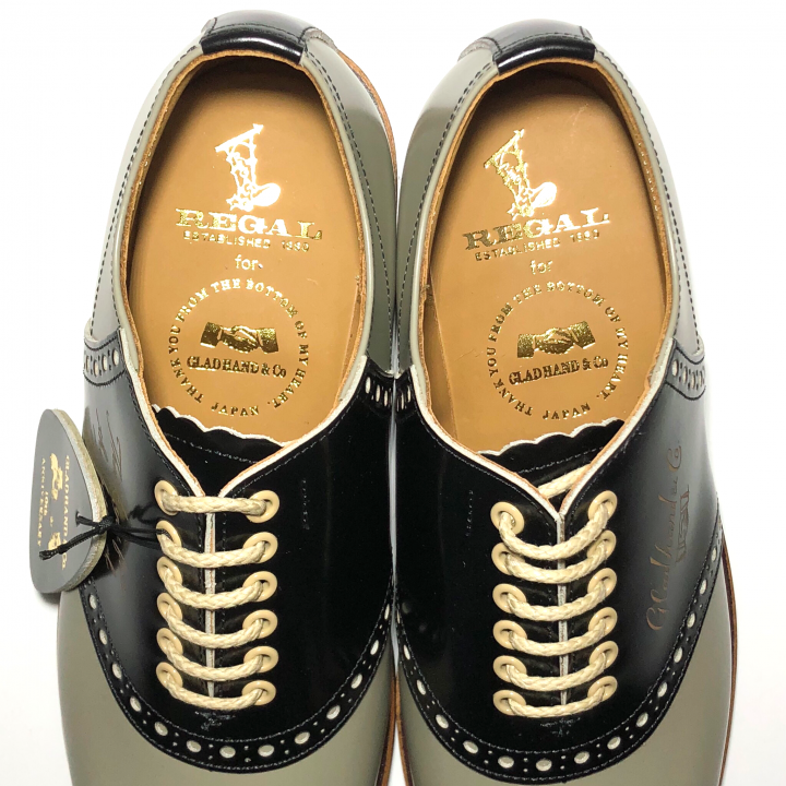 """SADDLE SHOES """"10th ANNIVERSARY"""" GRY × BLACKの商品画像5"""