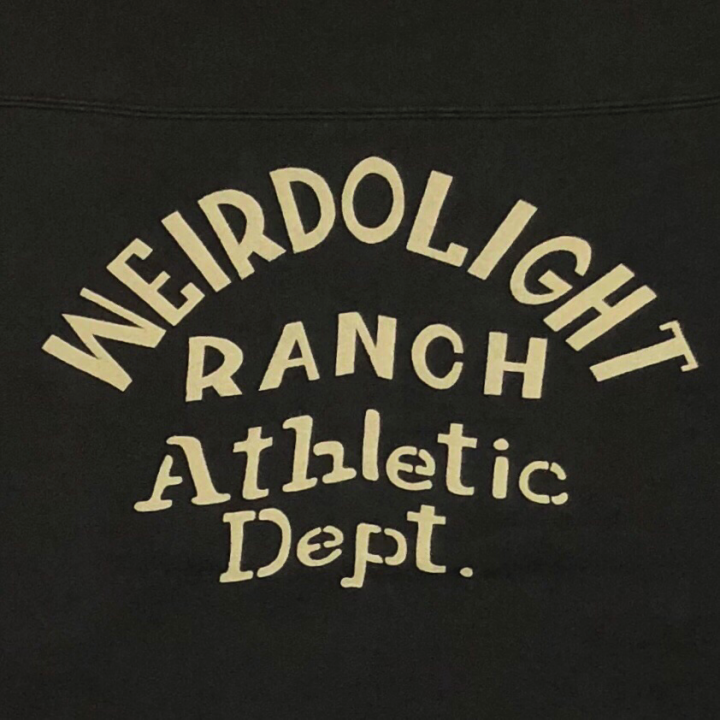 WEIRDOLIGHT RANCH – FOOTBALL SWEAT / BLACKの商品画像5