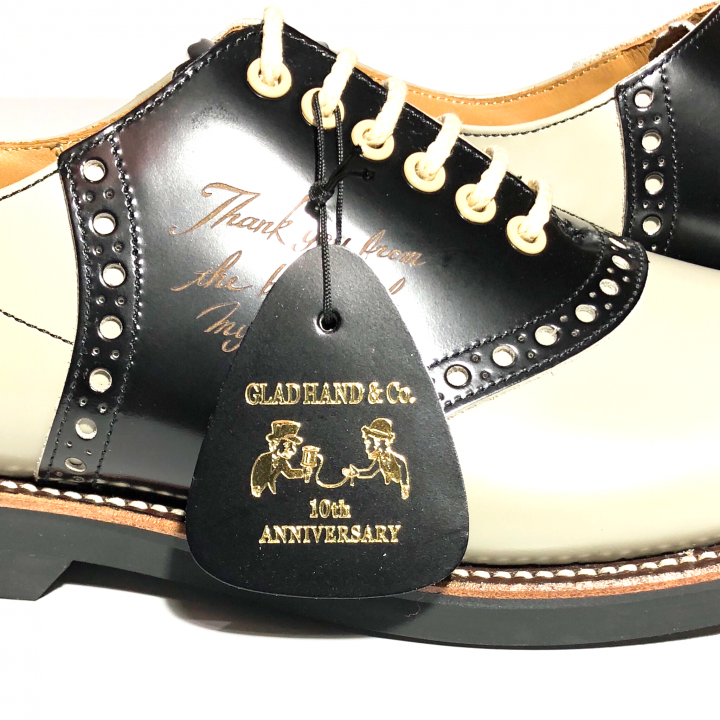 """SADDLE SHOES """"10th ANNIVERSARY"""" GRY × BLACKの商品画像3"""