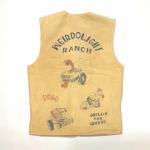 """WEIRDOLIGHT RANCH – VEST """"HOG SKIN"""" / BEIGEの商品画像"""