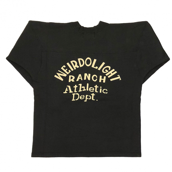 WEIRDOLIGHT RANCH – FOOTBALL SWEAT / BLACKの商品画像2