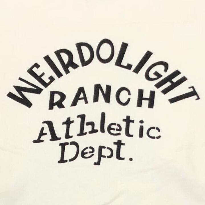 WEIRDOLIGHT RANCH – FOOTBALL SWEAT / WHITEの商品画像5