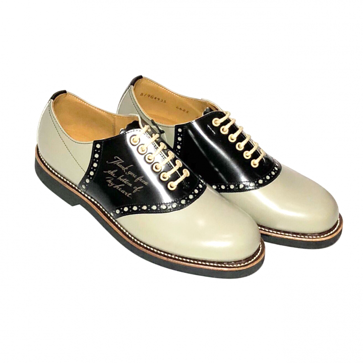 """SADDLE SHOES """"10th ANNIVERSARY"""" GRY × BLACKの商品画像2"""