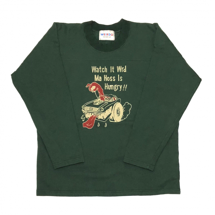 WEIRDOLIGHT RANCH – FOOTBALL SWEAT / GREENの商品画像1
