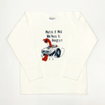 WEIRDOLIGHT RANCH – FOOTBALL SWEAT / WHITEの商品画像