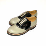 """SADDLE SHOES """"10th ANNIVERSARY"""" GRY × BLACKの商品画像"""