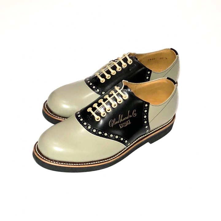 """SADDLE SHOES """"10th ANNIVERSARY"""" GRY × BLACKの商品画像1"""