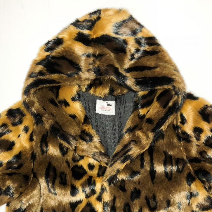 RISE ABOVE – FUR HOODIE / LEOPARDの商品画像3